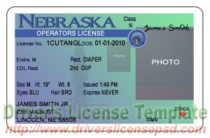 tennessee drivers license template - nebraska drivers license pictures to pin on pinterest