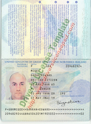 Drivers License - Fake Drivers License - Drivers License PSD ...