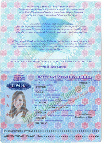 Drivers License - Fake Drivers License - Drivers License PSD | USA ...