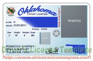 okc drivers license address change