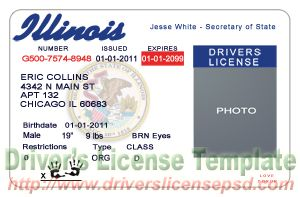 tennessee drivers license template - drivers license template images