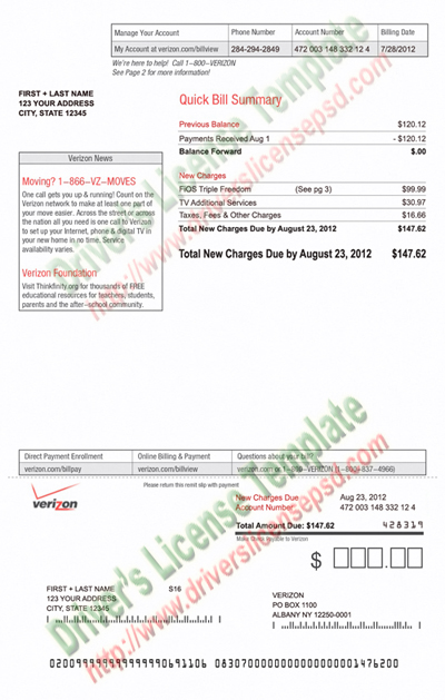 Drivers License Fake Drivers License Drivers License PSD - Free program to create invoices verizon online store